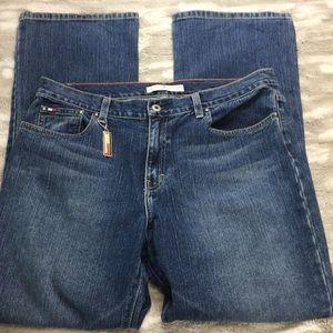 Tommy Hilfiger wide leg women jeans size 14
